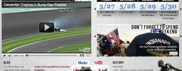 IndyCar Series - now an integrated media experience